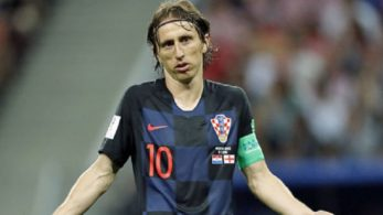Luka Modric criticised British media for not showing respect to England's opponents
