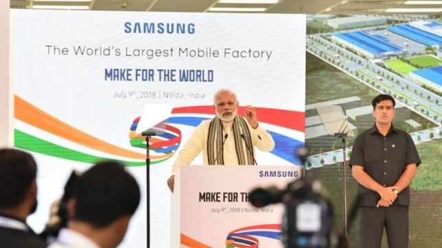 Modi says India is the 2nd largest mobile phone maker, thanks to Make-in-India initiative