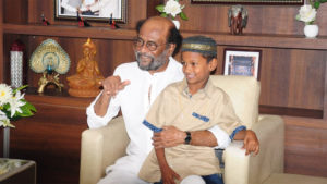 Rajinikanth,Mohammad Yasin,honesty,erode, Superstar, Thalaiva, Boy Rewarded For Honesty