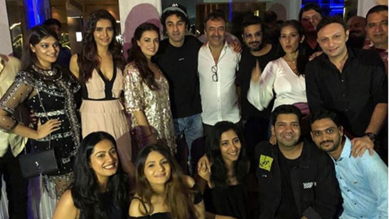 Sanju success party: Ranbir Kapoor and team celebrate the massive success in style, view photos