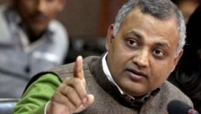 Delhi court frames charges against Somnath Bharti for the 2014 late-night raid in Khirkee