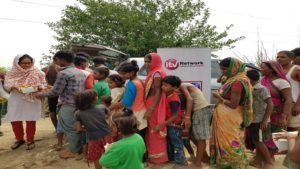 iTV foundation,Food and Medicine distribution camp,SVCT NGO,Yamuna River,Flood,national news,latest news