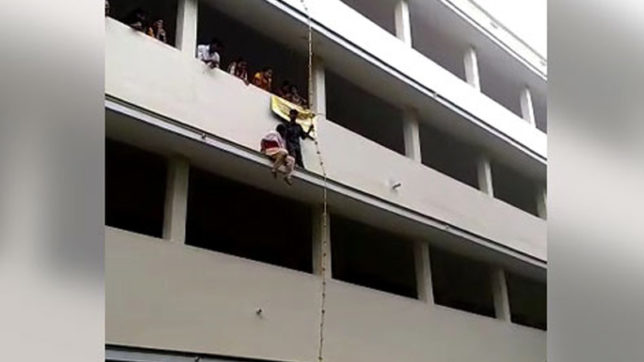 Video: Student dies after disaster drill at Tamil Nadu college goes awry