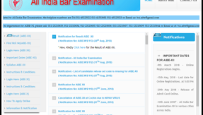 AIBE XII 2018 result declared @ allindiabarexamination.com, see how to download