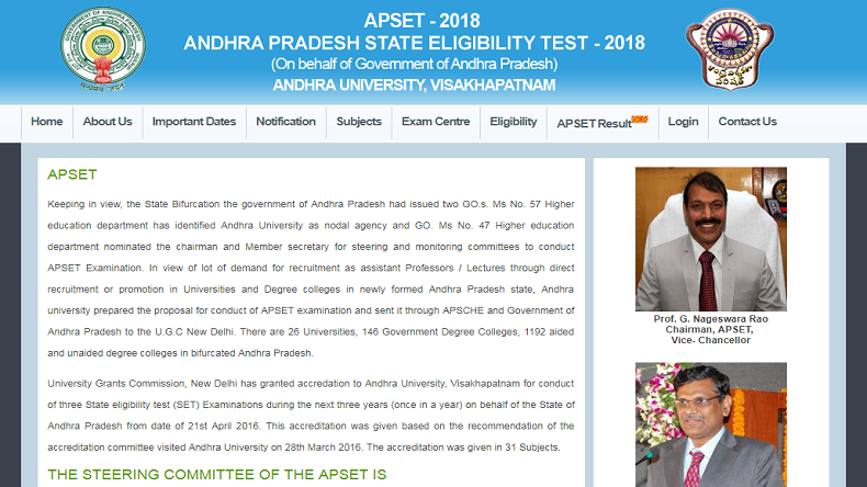 Manabadi APSET 2018 Result released @ apset.net.in, see how to download