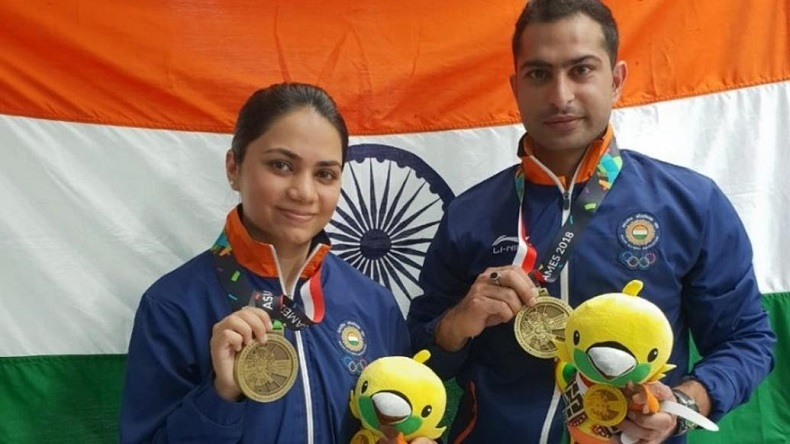 Asian Games 2018: Apurvi Chandela, Ravi Kumar bag bronze to open India's medal tally