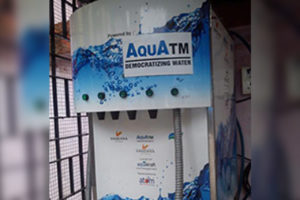 Aquakraft Projects Pvt Ltd,Suhas Pednekar,Vice Chancellor,University of Mumbai,Independence Day,Swachhagraha,Swachh Lab,Aquatm,Water ATM,Vending clean water,Garware Institute of Career & Education Development,GICED