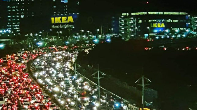This traffic jam photo went viral on Twitter after IKEA inaugurated first mega store in Hyderabad
