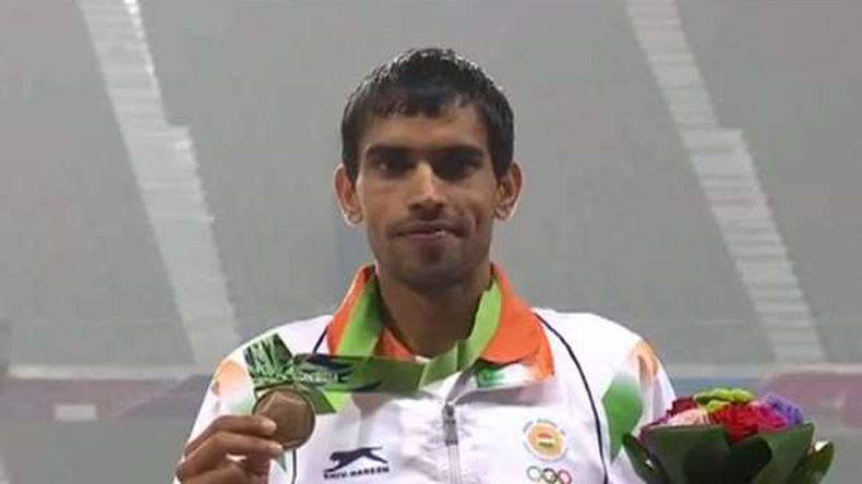 Asian Games 2018, 2018 asian games, asian games athletics, india at asian games, asian games steeplechase, naveen kumar