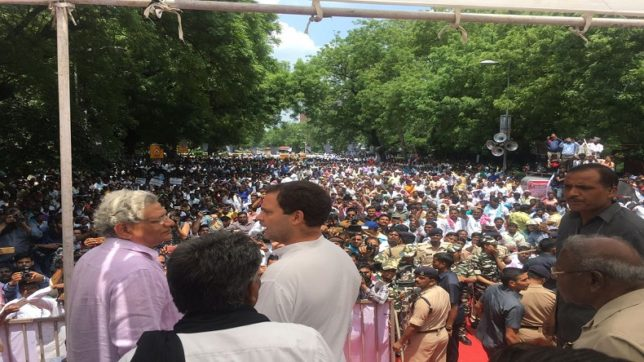 Rahul Gandhi promises Dalit government if victorious in 2019