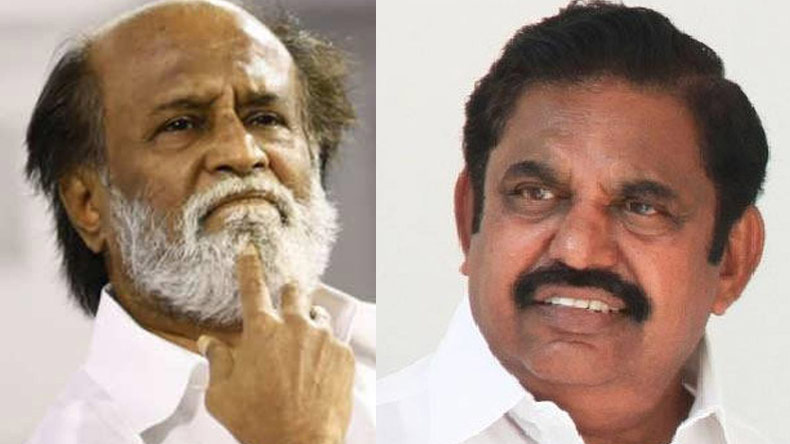 Rajinikanth,Palaniswami,Karunanidhi funeral,Rajinikanth attacks palaniswami,Tamil Nadu Chief Minister Palaniswami,national news,latest news