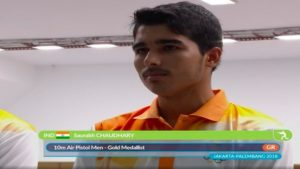 Saurabh Chaudhary, who is Saurabh Chaudhary, Saurabh, asian games, Saurabh Chaudhary profile, Saurabh Asiad