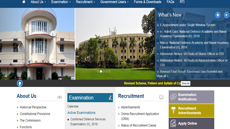 UPSC NDA and NA Admit Cards out