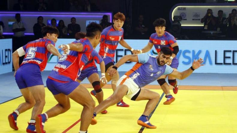 Disgrace in Indonesia! India loses to South Korea in kabaddi