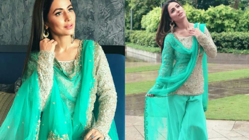 Hina Khan Shares Her Beautiful Eid Outfit On Instagram See Pictures