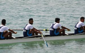 Indian rowing team, Sawarn Singh, Dattu Bhokanal, Om Prakash, Sukhmeet Singh, Asian Games 2018
