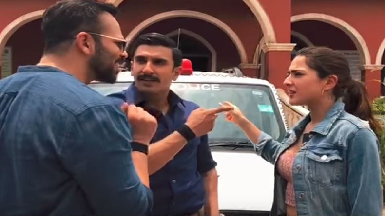 Simmba: Ranvir Singh shares video of women power but Rohit Shetty style!