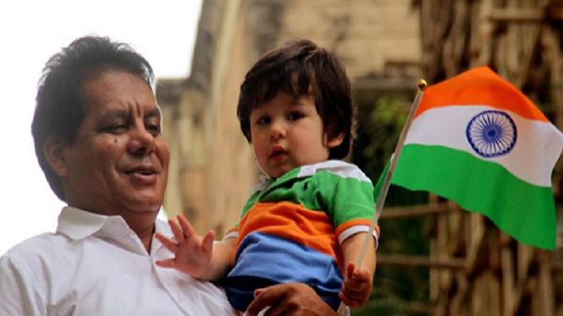 Taimur Ali Khan celebrates Independence Day in the cutest way possible! View photos