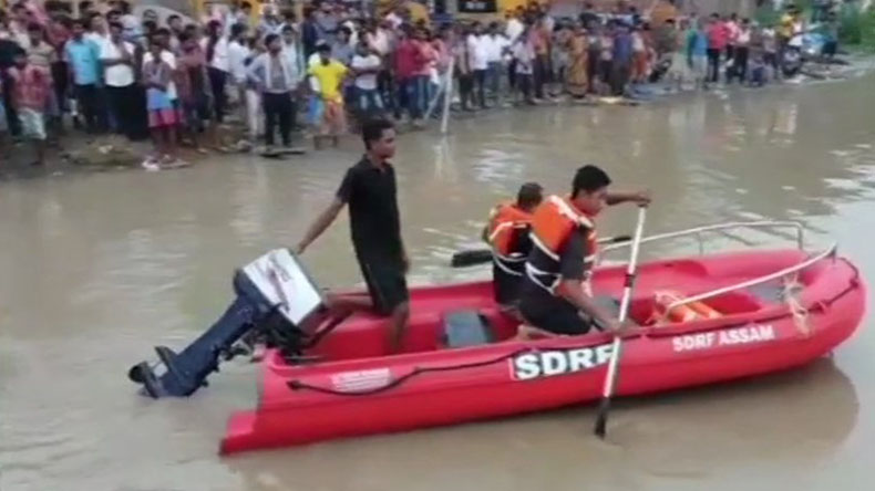 Guwahati: Boat carrying 45 passengers capsizes in Brahmaputra river, rescue operation underway