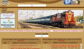 RRB Recruitment Board 2018 exam postponed