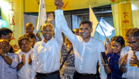 Opposition candidate Ibrahim Mohamed Solih defeats Abdulla Yameen by 58.3% votes in Maldives presidential elections