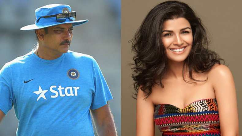 Ravi Shastri hits dating rumours with Nimrat Kaur out of the park