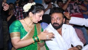 Bollywood superstar Sanjay Dutt celebrates an eco-friendly Ganesh Chaturthi with family, see photos