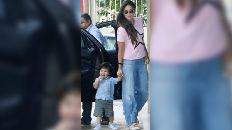 Taimur,Taimur Ali Khan,Kareena Kapoor,Karisma Kapoor,Taimur Photos,Taimur News,Maldives,Maldives vacation,Entertainment news,latest news