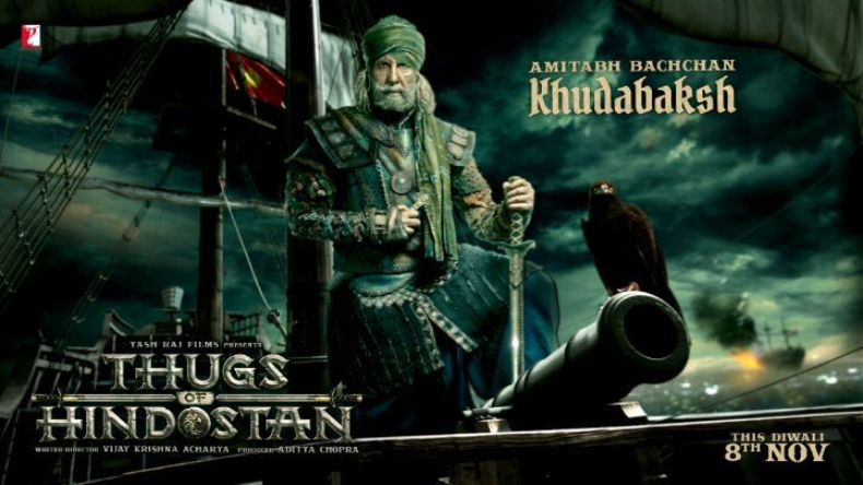 Image result for amitabh bachchan thugs of hindostan poster
