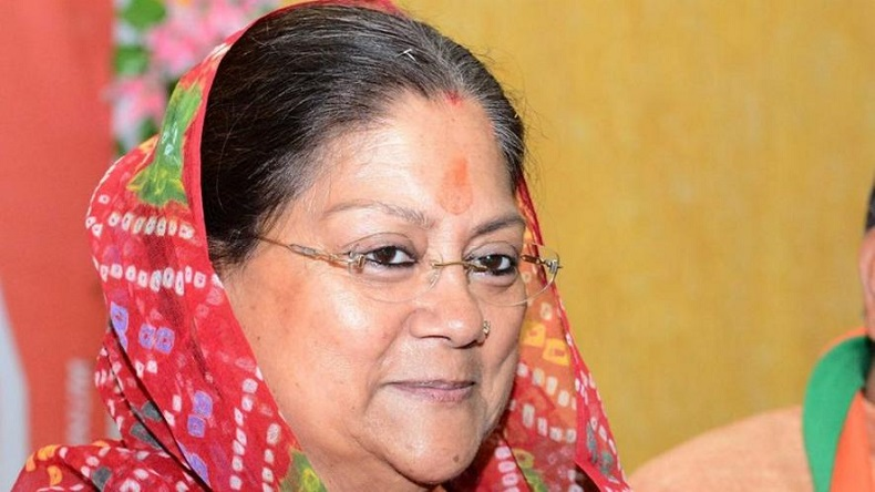 Ahead of assembly polls, Rajasthan CM Vasundhara Raje announces to give free smartphones to 1 crore families