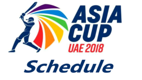 Asia Cup 2018 full schedule: Match dates, teams, fixtures, venues and match details