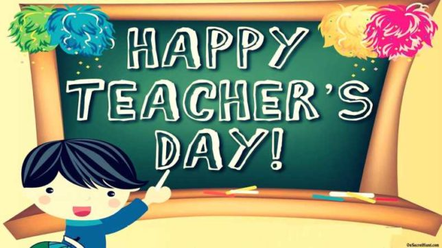 Happy teachers day cards creative ideas to make self made cards m4hsunfo