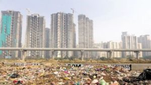 garbage in noida, garbage collection in noida, garbage facility in noida, noida authority, waste management noida