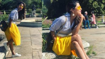 Hina Khan's vacation pictures are as vibrant as sunshine