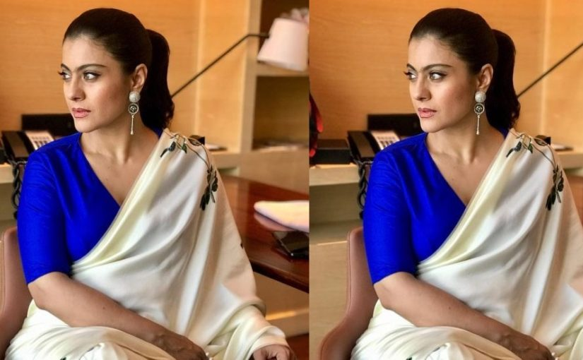 Kajol looks elegant in the latest photo