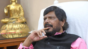 Ramdas athawale, Ramdas Athawale slapped, Union Minister slapped, Maharashtra, Ambarnath city, Republican party of India, rpi workers, Ramdas Athawale thrashed, national news