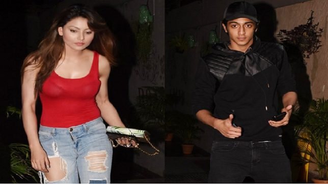 Urvashi rautela goes for Coffee date with Ahaan pandey