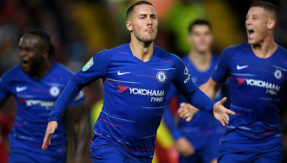 Southampton 0 Chelsea 2: Blues go top of the table as Eden Hazard's purple patch continues