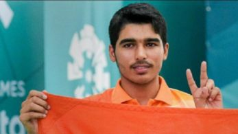 Saurabh Chaudhary, Youth Olympics, shooting