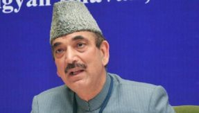 Ghulam Nabi Azad at Aligarh Muslim University says Hindus don't ask me to campaign anymore, BJP calls it another attempt to malign Hindus