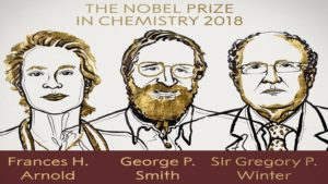 Chemistry,Nobel Prize 2018,Royal Swedish Academy of Sciences