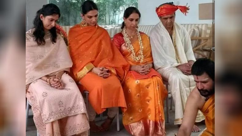 Deepika Padukone Ranveer Singh Wedding Photos This Picture Of