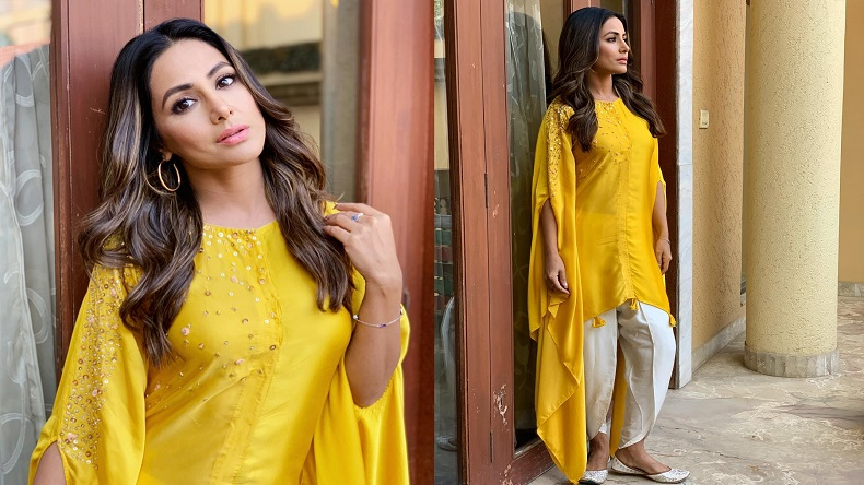 Hina Khan Looks As Bright As Sunshine In Her Latest Instagram Post