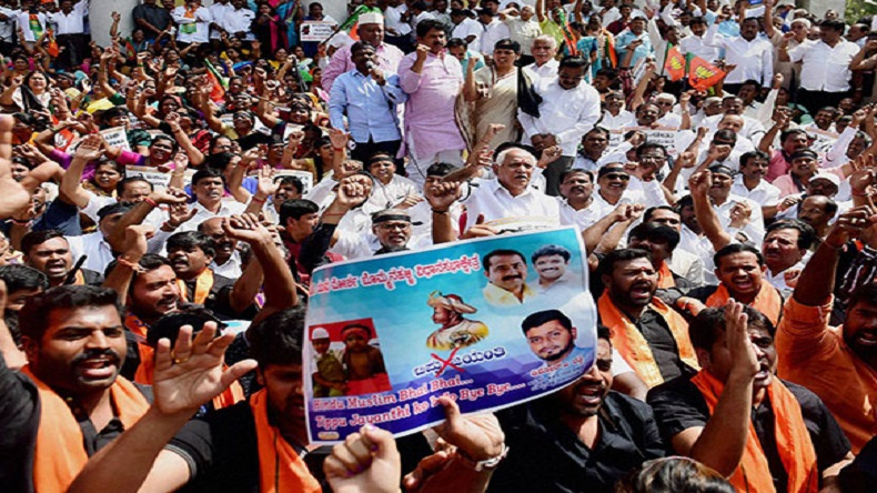 Tipu Jayanti 2018 protests LIVE updates: Protests in Madikeri ahead of government-sponsored celebrations, Section 144 imposed
