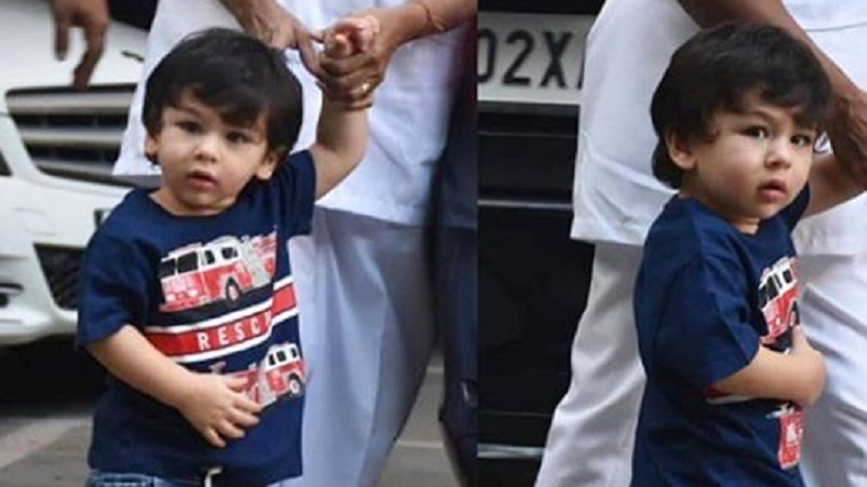 Taimur Ali Khan looks like a muffin on Children's Day, see photo thumbnail