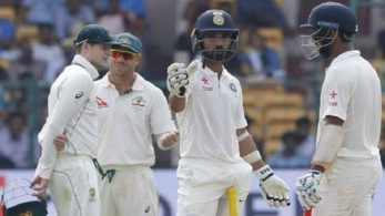 On the 3rd day, India got off to a quick start with KL Rahul's fast 47 as India reached 88 for 2 at tea.