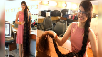 Gujarati girl Nilanshi Patel wins World record for longest hair on a Teenager, see details