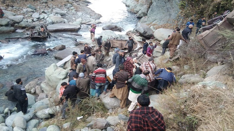 Jammu and Kashmir: 23 dead after bus falls into gorge in Poonch