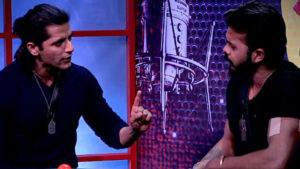 Bigg Boss 12 Day 95 Episode 96 December 20 2018 LIVE written updates, Bigg Boss 12 Day 95 Episode 96 December 20 2018 highlights, Shah Rukh Khan, Zero, Salman Khan, Sreesanth, Rohit Suchanti, Dipika Kakkar, Romil Choudhary, Deepak Thakur, Surbhi Rana, Megha Dhade, Jasleen Matharu, Karanvir Bohra, bigg boss 12, bigg boss 12 weekend ka vaar, salman khan, salman, salman bigg boss 12, Bigg Boss 12 latest news, Bigg Boss 12 latest episode, Bigg Boss 12 episode, bigg boss 12 eviction, bigg boss 12 elimination