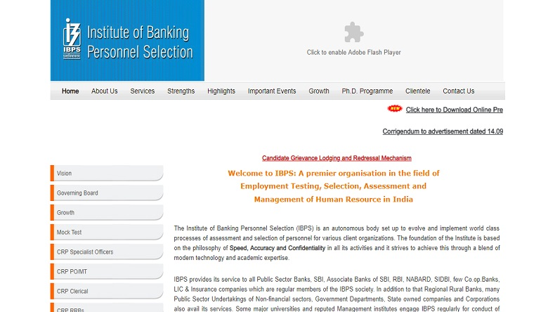 IBPS PO mains result 2018, check IBPS PO mains result, IBPS PO mains result, Institute of Banking Personnel Selection, how to check ibps PO main result 2018, education news